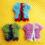 Nouveau patron crochet: Mini gilet pour débuter (pour poupées & guirlandes de mini-pulls)